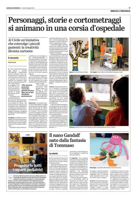 L'articolo di Paolo Fossati sul GdB